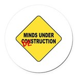 Mind Destruction Round Car Magnet
