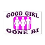 Good Girl Gone Bi Rectangle Car Magnet