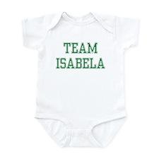 TEAM ISABELA  Infant Bodysuit