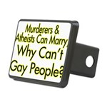 Why Can't Gay People Rectangular Hitch Cover