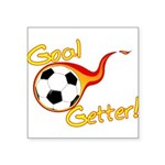 Goal Getter Square Sticker 3