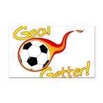 Goal Getter Rectangle Car Magnet