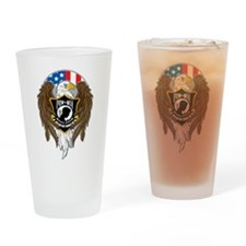 POW/MIA Eagle Drinking Glass