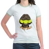 Play Ball, Labrador with Tennis Balls T-Shirt