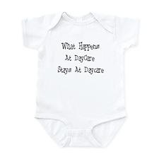 What Happens At Daycare! Infant Bodysuit
