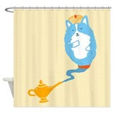 Corgi Genie - Shower Curtain