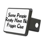No Friggin Clue Rectangular Hitch Cover