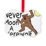 Moon A Werewolf Picture Ornament