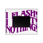 Flirty Flasher Picture Frame