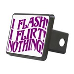 Flirty Flasher Rectangular Hitch Cover