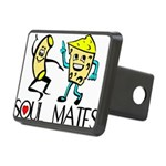 Macaroni And Cheese Rectangular Hitch Cover