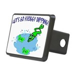 Froggy Dipping Rectangular Hitch Cover