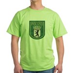 Berlin Police Green T-Shirt