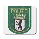 Berlin Police Mousepad