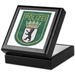 Berlin Police Keepsake Box