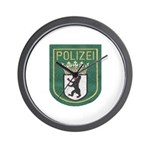 Berlin Police Wall Clock