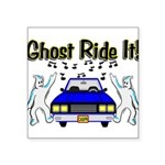 Ghost Ride It Square Sticker 3