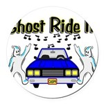 Ghost Ride It Round Car Magnet