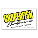Cooperfish Rectangle Sticker