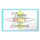Tanaka ET Model Surfboards Rectangle Decal