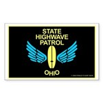 Ohio Highwave Patrol Rectangle Sticker