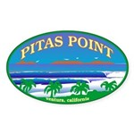 PITAS POINT Oval Sticker