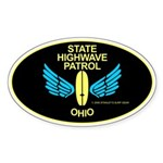 Ohio Highwave Patrol Oval Sticker
