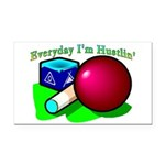 Hustle Everyday 2.png Rectangle Car Magnet