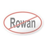 ROWAN Oval Decal