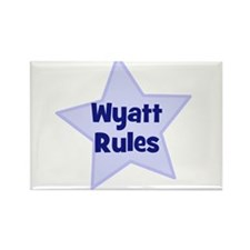 Wyatt Rules Rectangle Magnet (10 pack)