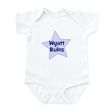 Wyatt Rules Infant Bodysuit