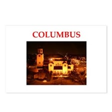 columbus Postcards (Package of 8)