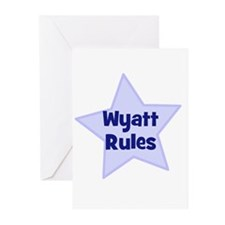 Wyatt Rules Greeting Cards (Pk of 10)