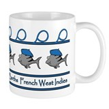 ST BARTHS FRENCH WEST INDIES Mug