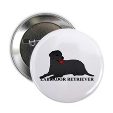 "Labrador Retriever 2.25"" Button (100 pack)"