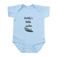 Daddy's little sailor bodysuit Infant Bodysuit