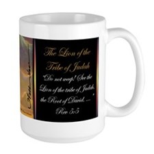 """The Lion of Judah"" Christian Fine Art Mug"