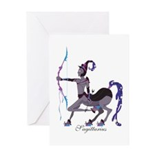 Starlight Sagittarius Greeting Card