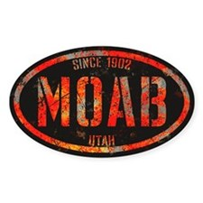 Moab Red Apocalypse Decal