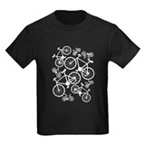 Cycling Kids T-shirts (Dark)