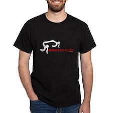 behind bars for lifeblack T-Shirt