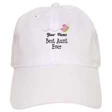 Personalized Best Aunt Baseball Cap