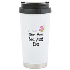 Personalized Best Aunt Ceramic Travel Mug