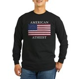 American Atheist Long Sleeve T-Shirt