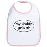 My Daddy gets air Bib