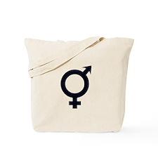 Male Female Symbols Tote Bag