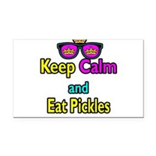 Crown Sunglasses Keep Calm And Eat Pickles Rectang