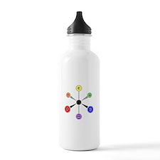 APCHEM VSEPR shirt.png Water Bottle