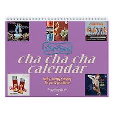 Cha Cha Cha Wall Calendar
