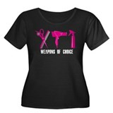 Hair Stylist Pink Tools Black Shirt Plus Size T-Sh